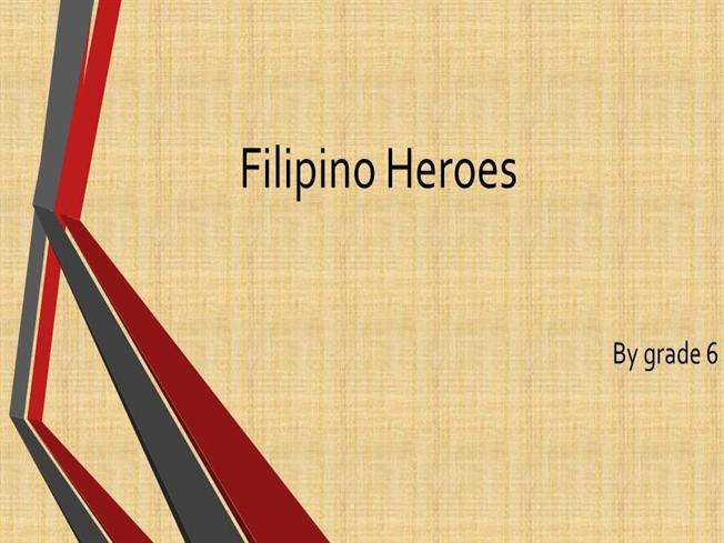 Filipino heroes authorstream post to toneelgroepblik Images