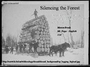 Silencing the Forest Songbirds