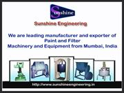 Attritor Mill Manufacturer from Maharashtra India