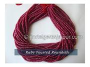 Types of Ruby Gemstone Beads