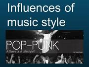 Influences of  Pop punk