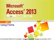Access 2013 Illustrated Unit C