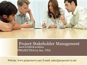 PMP- CAPM Stakeholder Management - PMBOK5th Edition Video Training Tut