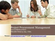 PMP-CAPM Procurement Management - PMBOK5th Edition Video Training Tuto