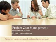 PMP-CAPM Project Cost Management - PMBOK5th Edition Video Training Tut