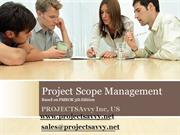 PMP-CAPM Project Scope Management - PMBOK5th Edition Video Training Tu