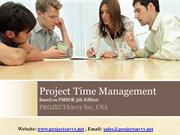 PMP-CAPM Project Time Management- PMBOK5th Edition Video Training Tuto