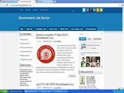 Government Job Sector !!!