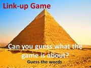 Link-up Game aift 3 coursebook inspiration ppt