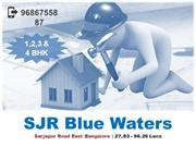 Download SJR Blue Waters Bangalore Price/Application Form @9686755887
