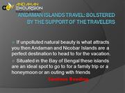Andaman Islands Travel