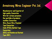 Armstrong Wires - Concertina Coils Manufacturer