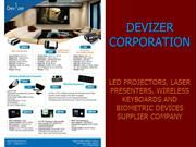 DEVIZER CORPORATION-LED PROJECTORS, BIOMETRIC DEVICES COMPANY