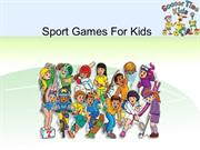Sport Games for Kids