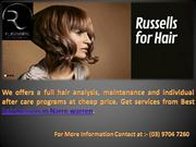 Russell's for Hair - Best hairdressers in Narre warren
