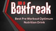 Best Pre Workout Optimum Nutrition Drink