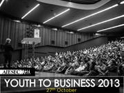 Youth to Business Forum 2013 in Pictures