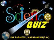 FINAL SCIENCE QUIZ