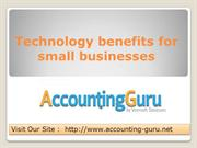 conventional accounting methods and online accounting software