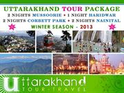 UTTARAKHAND TOUR TRAVEL - TOUR PACKAGES