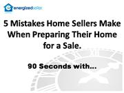 House Staging - 5 House Staging Mistakes