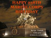 238th Marine Birthday
