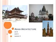 Asian Architecture gr. 8 unit II lesson 3