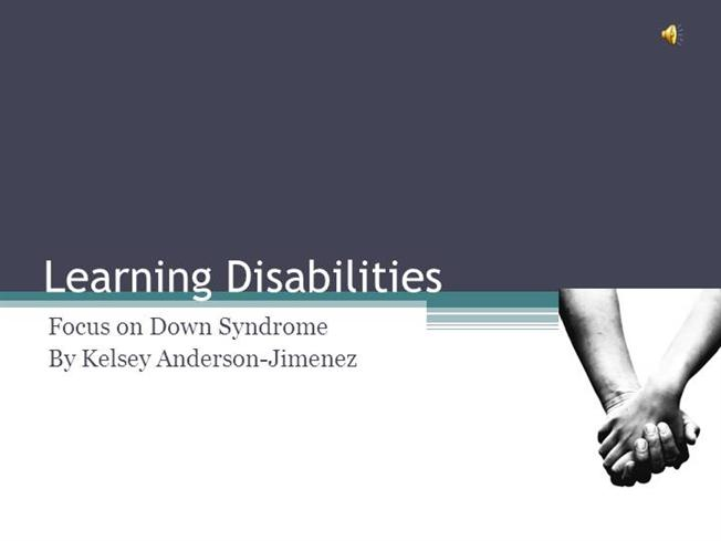 Learning Disability Powerpoint |authorSTREAM