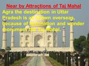 Taj Mahal Near By Attraction