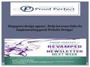 Singapore design agency -Help increase Sales by Implementing great Web