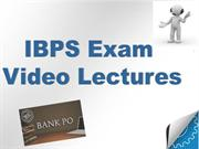 IBPS video Lectures