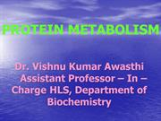 Digestion of Protein for MBBS student of Era'sLucknow Medical College