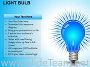 INVENTION LIGHT BULB POWERPOINT SLIDES