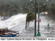 Super Typhoon Haiyan -Philippines - Nov.2013