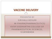 VACCINE DELIVERY