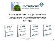 IFSQN Food Safety Management System Packages