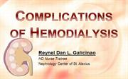 Complications of Hemodialysis