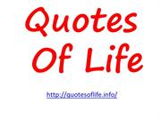 Quotes of Life