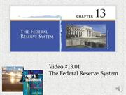 #13 -- The Structure and Functions of the Fed