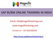 sap online trainers of course on bibw