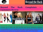 Beyond The Rack Complaints – Customers Review