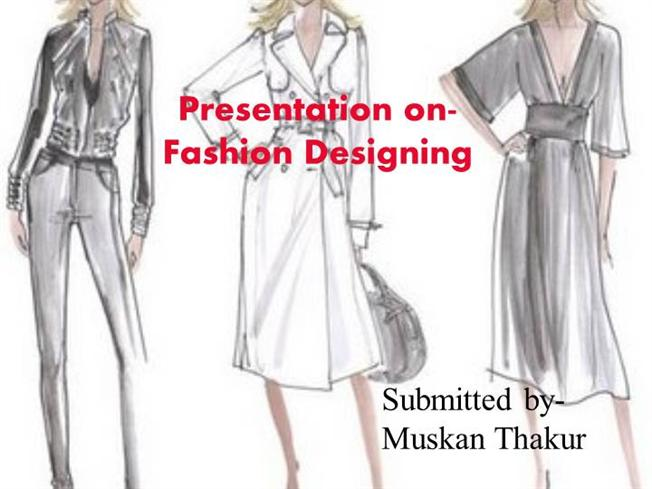 Fashion Design Powerpoint Authorstream