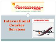 International couriers in Hong kong