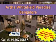 View Info of Artha Whitefield Paradise Bangalore @9686755887
