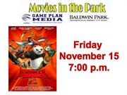 Baldwin Park, Movies in the Park:  Kung Fu Panda 2
