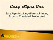 Retractable Banner stands- Easysign Inc