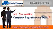 Company Registration Delhi | India-Company-Registration.com