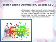 Why Search Engine Optimisation ( SEO ) is so important