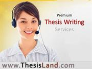 TL-video-Thesis Writing Services