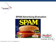 SPAM Ad Test 11-6-13